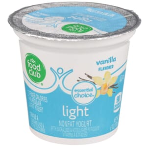 Vanilla - Light Nonfat Yogurt