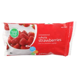 Whole Strawberries, Unsweetened