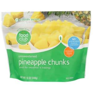 Pineapple Chunks, Unsweetened
