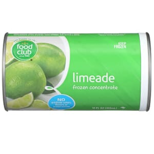 Limeade Frozen Concentrate
