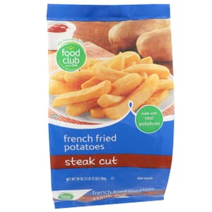French Fried Potatoes, Steak Cut