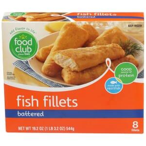 Battered Fish Fillets