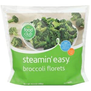 Steamin' Easy, Broccoli Florets