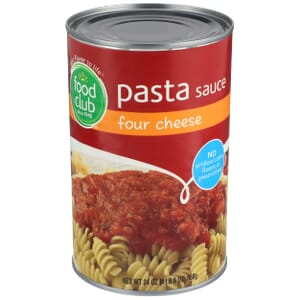 Four Cheese Pasta Sauce