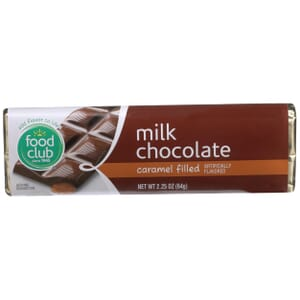 Milk Chocolate, Caramel Filled