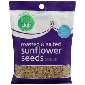 Sunflower Seeds - Roasted & Salted, Shelled