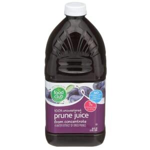 100% Unsweetened Prune Juice