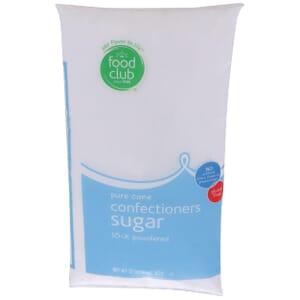 Pure Cane Confectioners Sugar, 10-X Powdered