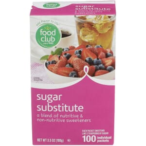 Sugar Substitute Individual Packets