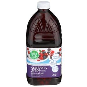 Lite Cranberry Grape Flavored Juice Cocktail
