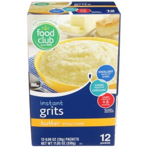 Butter Instant Grits - Enriched