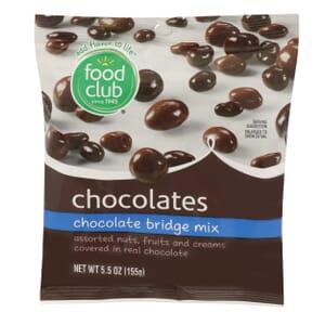 Chocolate Bridge Mix Chocolates