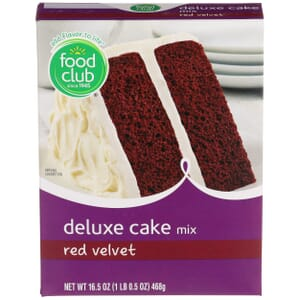 Red Velvet Deluxe Cake Mix