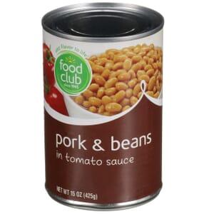 Pork & Beans In Tomato Sauce
