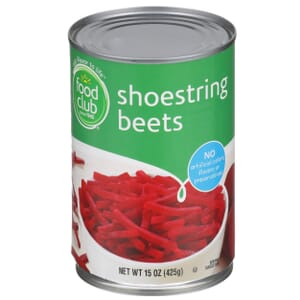 Shoestring Beets