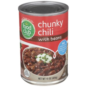 Chunky Chili With Beans