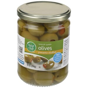 Spanish Queen Olives, Pimiento Stuffed