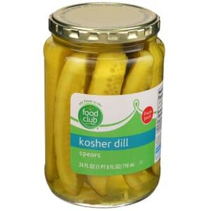 Kosher Dill Spears Pickles