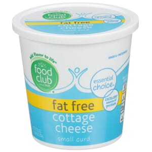 Fat Free Cottage Cheese, Small Curd