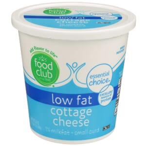 Lowfat Cottage Cheese, Small Curd