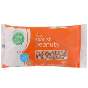 Spanish Peanuts, Raw