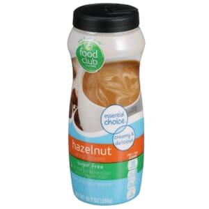 Hazelnut - Sugar Free Non-Dairy Creamer