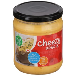 Cheezy Does It, Pasteurized Cheese Snack