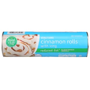 Cinnamon Rolls With Icing - Reduced Fat