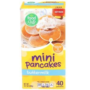 Buttermilk Pancakes,  Mini