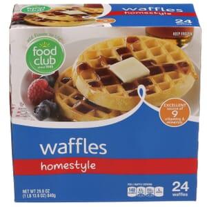 Homestyle Waffles