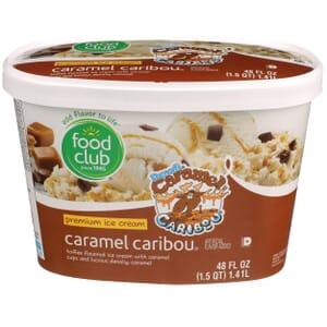 Caramel Caribou Premium Ice Cream
