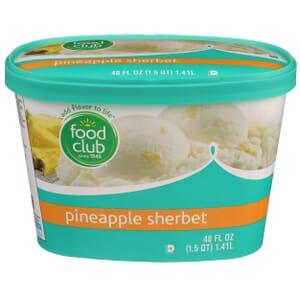 Pineapple Sherbet