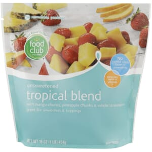 Tropical Blend Fruit, Unsweetened