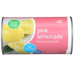 Pink Lemonade Frozen Concentrate