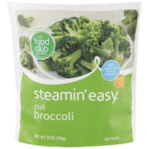 Steamin' Easy, Cut Broccoli