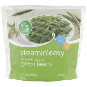 Steamin' Easy, French Style Green Beans