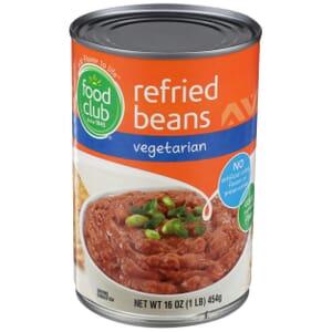 Refried Beans, Vegetarian