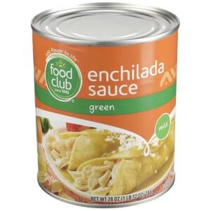Enchilada Sauce, Green, Mild
