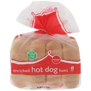 Hot Dog Buns, Enriched