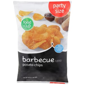Barbecue Potato Chips, Party Size