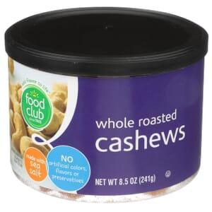 Cashews, Whole Roasted