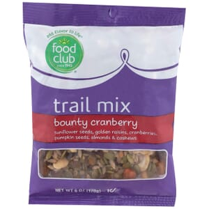 Trail Mix, Bounty Cranberry