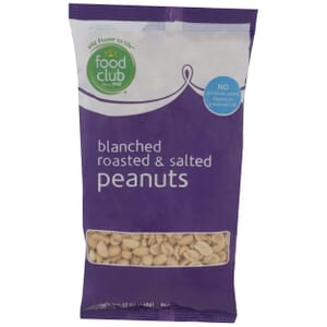 Peanuts, Blanched Roasted & Salted