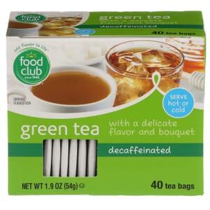 Green Tea, Decaffeinated