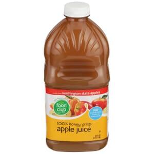 100% Honey Crisp Apple Juice