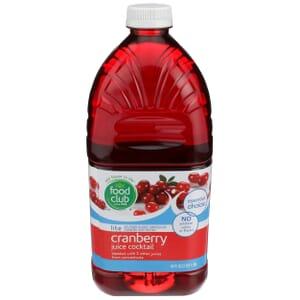 Lite Cranberry Juice Cocktail