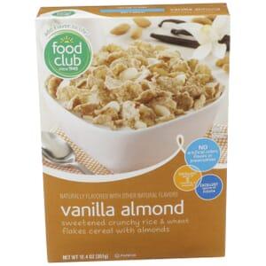 Vanilla Almond Cereal