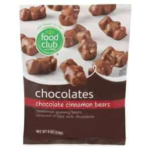 Chocolate Cinnamon Bears Chocolates