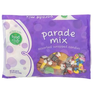 Parade Mix, Assorted Wrapped Candies