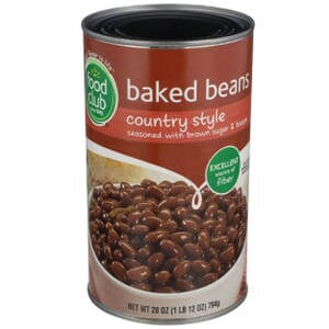 Baked Beans, Country Style